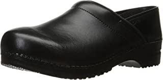 Sanita Professional PU Closed Clog | Original Handmade Flexible Leather Clog for Men