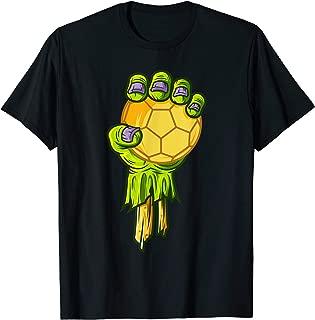 Zombie Hands Handball Funny Halloween Horror Scary Costume T-Shirt