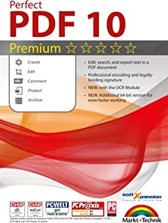 Perfect PDF 10 PREMIUM with the OCR Module Create, Edit, Convert, Protect, Add Comments to, Insert Digital Signatures in PDFs | 100% Compatible with Adobe Acrobat