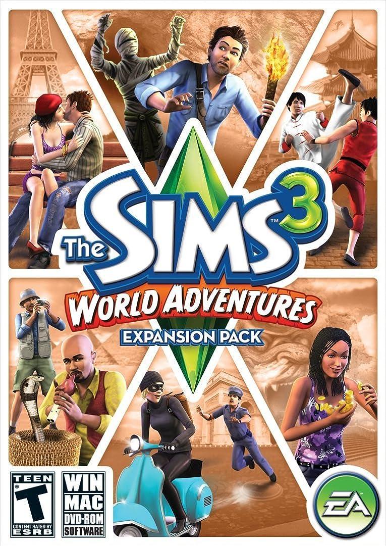 脱臼する雷雨クリップThe Sims 3: World Adventures Expansion Pack (輸入版)