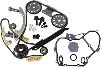 Mplus Engine Timing Chain Kit Cover Gasket with Gear...