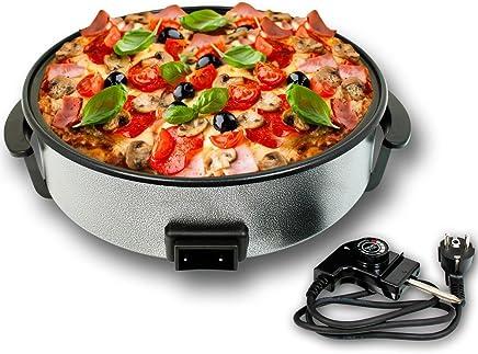 Eléctrico Sartén Sartén XXXL Pizza Party Sartén Multi Sartén 42cm + 11cm de profundidad