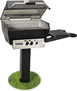 post mount natural gas grill head