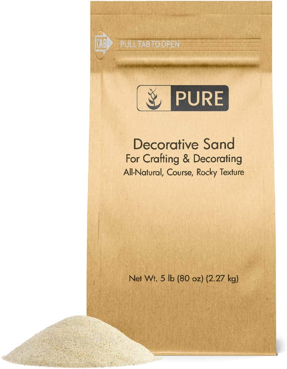 Natural Decorative Sand 5 lbs Free shipping anywhere in the nation by Pure Use Real Cr Many popular brands for