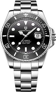 Pagani Design Brand 1639 Stainless Steel Mens Watch Automatic Mechanical Waterproof Ceramic Bezel Wristwatches