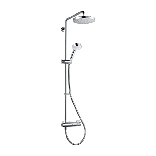 Mira Showers 1.1736.403 Agile Exposed Rigid with Diverter (ERD) Thermostatic Mixer Shower, Chrome