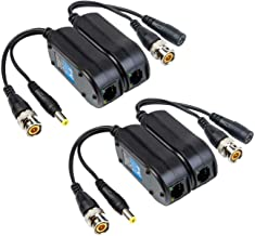Lapetus 4 Pack 3 Feet 1 Meters BNC to BNC 75-Ohm Coax Cable