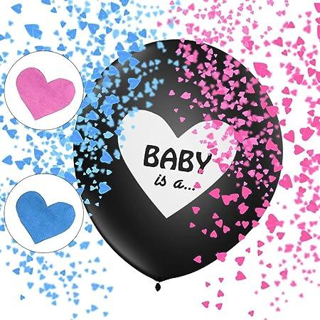 Sunshine smile Boy or Girl Party, Gender Reveal Kit, Baby Shower Balloon, Gender Reveal Party, Baby Shower Party, Boy or Girl Banner