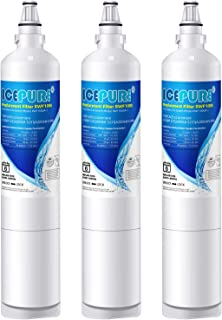 ICEPURE LT600P Replacement for Refrigerator Water Filter, Compatible LG LT600P, 5231JA2006A, 5231JA2006B, KENMORE 46-9990, 9990, 469990, RWF1000A 3 PACK