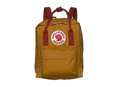 Fjallraven Kanken Mini (Acorn/Ox Red) Backpack Bags