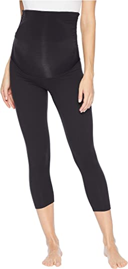 834e447161686 3. Beyond Yoga. Fold Down Maternity Capri Leggings. $86.00. Jet Black
