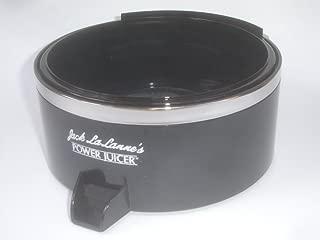 Jack LaLannes Juicer Model CL-003AP Juice Collector Separator Spout Bowl Replacement Part Black