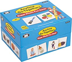 Super Duper Publications Anytime Go-Togethers Photo Fun Deck Flash Cards Educational Learning Resource for Children