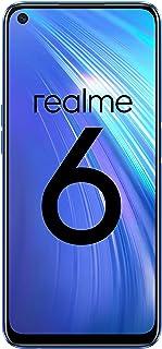 "realme 6 – Smartphone de 6.5"", 8 GB RAM + 128 GB ROM, Procesador OctaCore, Cuádruple Cámara AI 64MP, Dual Sim, Color Comet Blue"