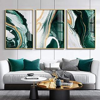 TYUIOP مجردة شمال قماش وحدات 3 لوحة العقيق اللون ملصق ديكور المنزل اللوحة عالية الدقة طباعة غرفة المعيشة صورة جدار الفن