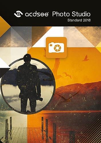 ACDSee Photo Studio Standard 2018 - Organisieren, bearbeiten und teilen Sie Ihre Fotos im Handumdrehen! [Online Code]