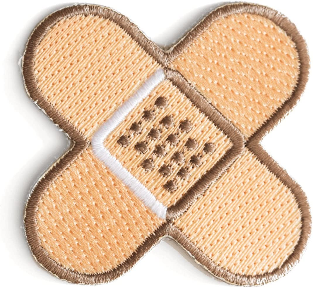 These Are Things Finally popular brand Band-Aid Embroidered or Iron Patch On New life Sew
