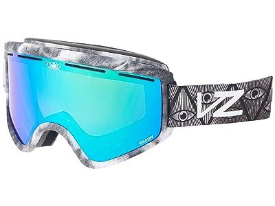 VonZipper Cleaver (John Jackson Signature Gloss/Wildlife Quaser Chrome) Goggles
