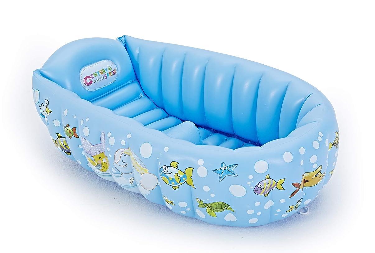 お風呂矢強風PARENTSWELL ベビーバス 赤ちゃんお風呂 ベビーバスタブ 空気入れポンプ付き 対象年齢0ヶ月~36ヶ月