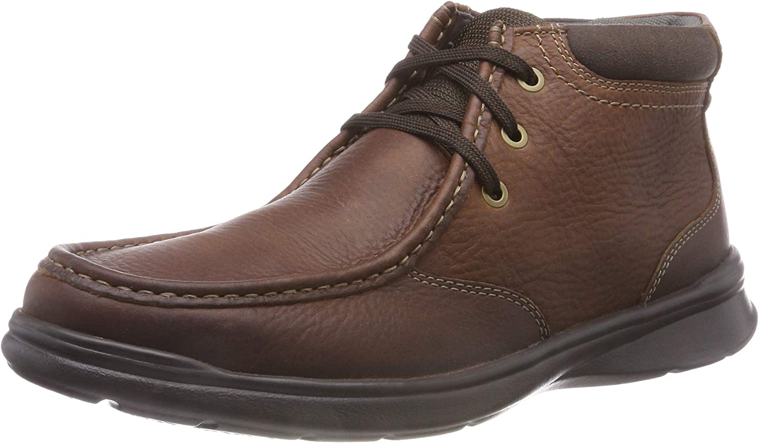 Clarks Men's Komuter Spark Classic Boots, Brown (Tobacco Leather) 9.5 UK