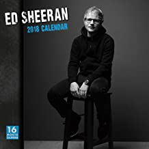 Ed Sheeran 2018 Wall Calendar (CA0129)