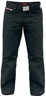 Duke London Mens Kingsize Mario Bedford Cord Trousers with Belt