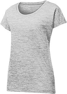 Women's Dri-Equip Electric Heather Moisture Wicking T-Shirts in XS-4XL
