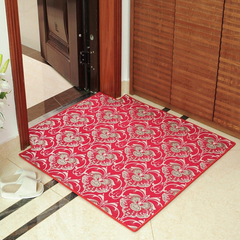 Floor Mat Doormat Non-Slip Mat Hall,Living Room,Bedroom Mats Indoor Mats-F 80x120cm(31x47inch)