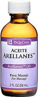 De La Cruz Arellanes Oil for Massage, Made in USA 2 FL. OZ.