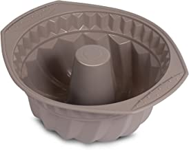 Internet's Best Silicone Fluted Cake Mold - Bundt Cake Pan - Bread Chocolate Bakeware - BPA Free