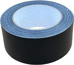 Packitsafe 1 x Zwarte Duct Tape Gaffa 48mm x 48 m Tape, Sterke Zelfklevende Verpakkingsband