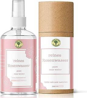 TestSieger! Grüne Valerie Reines Damaszener Rosenwasser Spray 300 ML ohne Alkohol &..