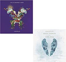 Live In Buenos Aires - Ghost Stories Live 2014 (CD+DVD) - Coldplay Greatest Hits Live 2 CD Album Bundling