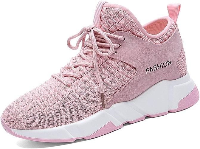 HBDLH Chaussures pour Femmes Student Girls'chaussures Chaussures De Sport des Chaussures De Course Printemps portable Rose Trente - Huit
