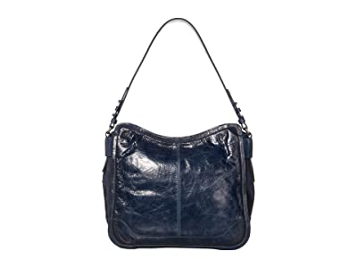 Frye Mel Hobo (Navy) Handbags