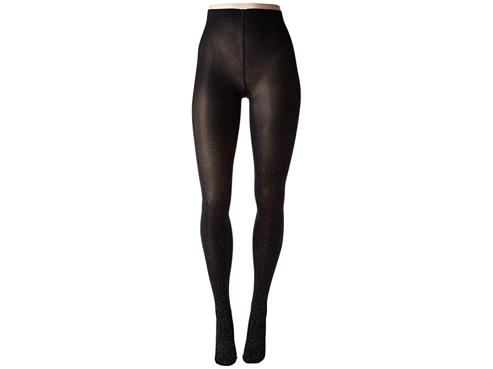 Wolford Luna Tights (Black/Silver) Hose