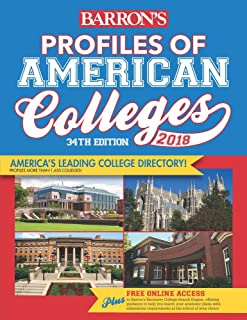 Profiles of American Colleges 2018 (Barron's Profiles of American Colleges)