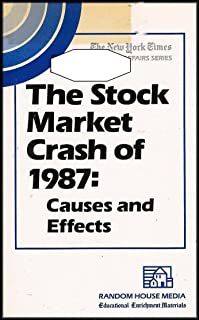 The Stock Market Crash of 1987: Causes and Effects (VHS VIDEO)