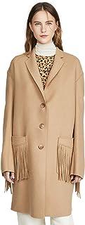R13 Women's Fringe Raw Cut Coat