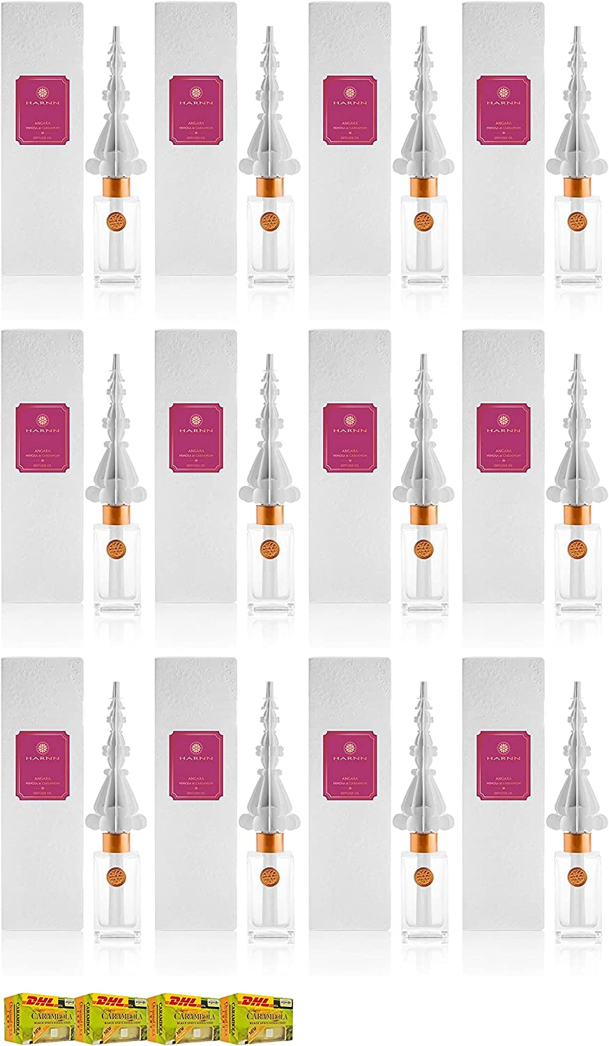 Ml. Harnn Angara Mimosa Cardamom A4 Oil Set Special Weekly update Campaign 100 Diffuser