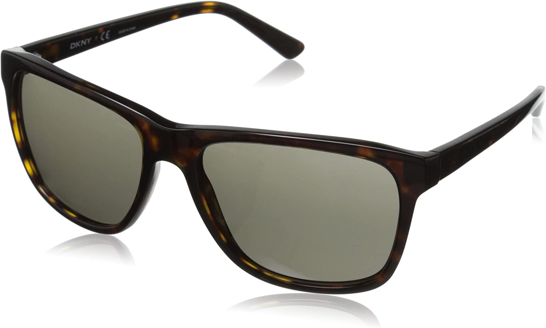 DKNY Womens 0DY4131 Square Sunglasses