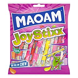 Maoam Joystixx Sweets Sharing Bag 140g
