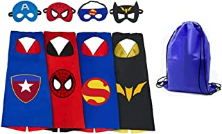 Yalla Baby Superheros Capes & Masks Dress Up for Kids 3-12 Years - New and Classic Styles