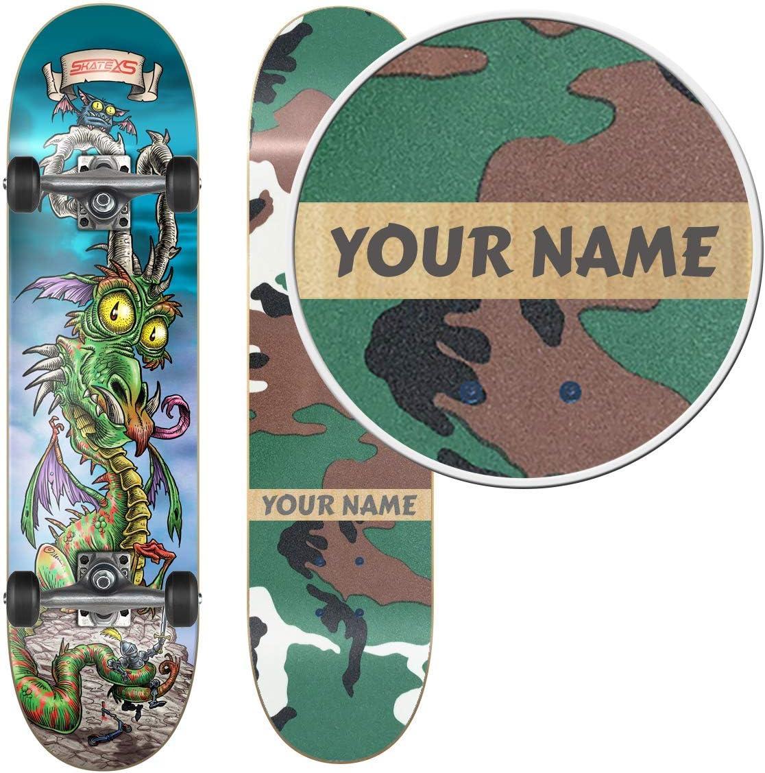 SkateXS Personalized Beginner Skateboard Sales for Sales sale Street Dragon
