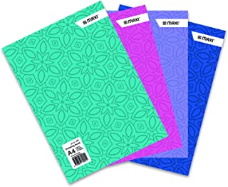 MAXI DRAWING BOOK COLOUR A4 110GSM 20 SHEETS,Assorted colours