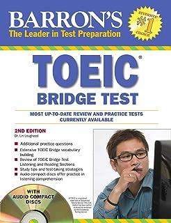 Barron's TOEIC Bridge Test with Audio CDs: Test of English for International Communication (Barron's Toeic Bridge Test: Test for English for Internationa)