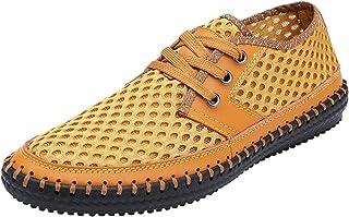 1821fcea868dac Modern Fantasy Men s Slip on Loafers Mesh Shoes Casual Lightweight Sports  Sandals