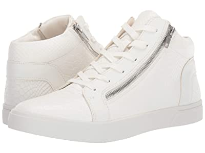 Steve Madden Rayne High-Top Sneaker (White Snake) Men
