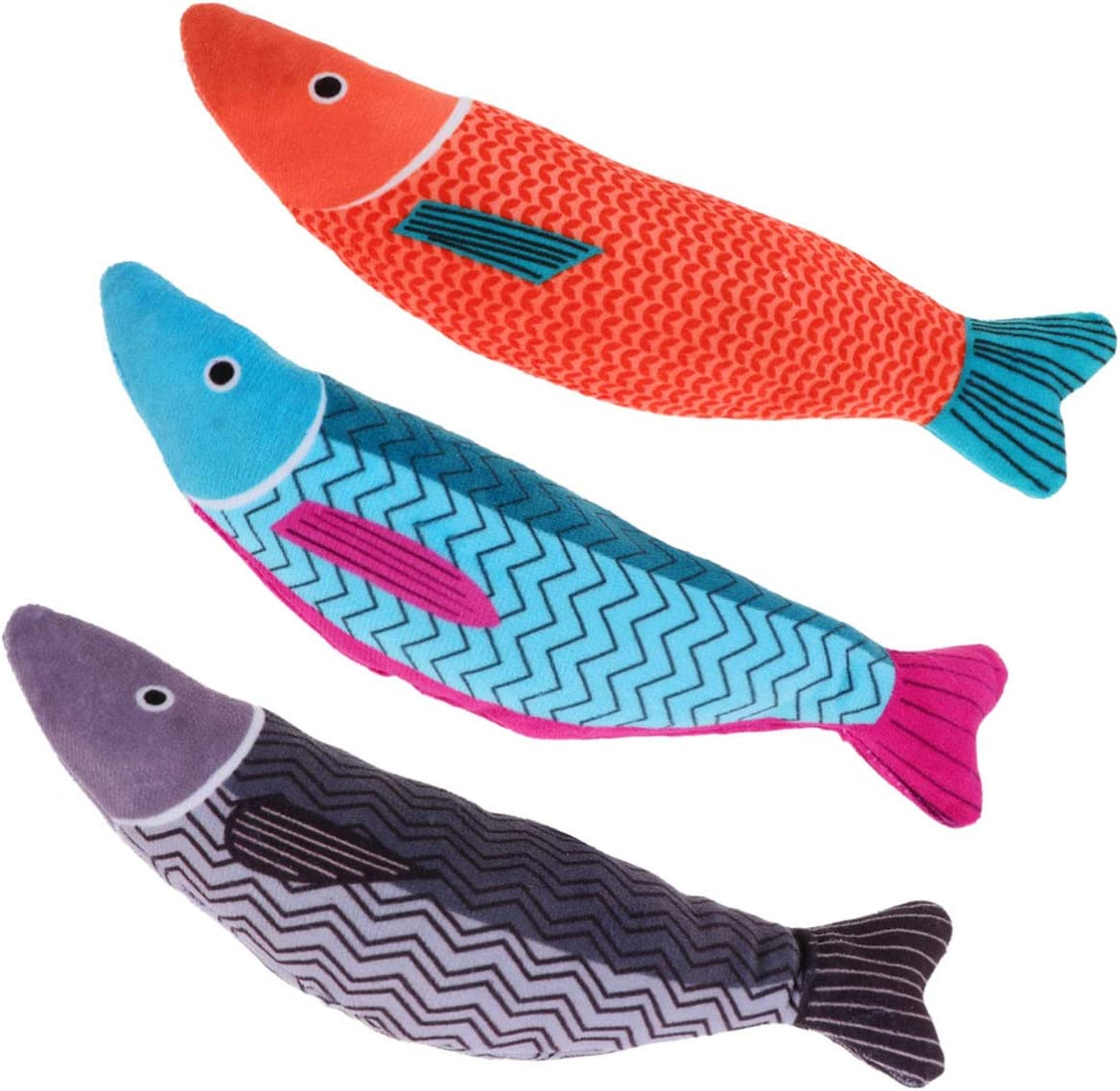 POPETPOP Catnip Toys- Louisville-Jefferson County Mall Fish Cat Toy Indo Toys for Interactive Max 71% OFF