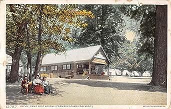 Camp Lost Arrow California Office Building Detroit Pub Antique Postcard K9519